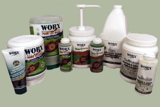 1) Worx – a range of effective hand cleansing and care products from Canada - is now available in the UK through hand tool distributor, Damar International