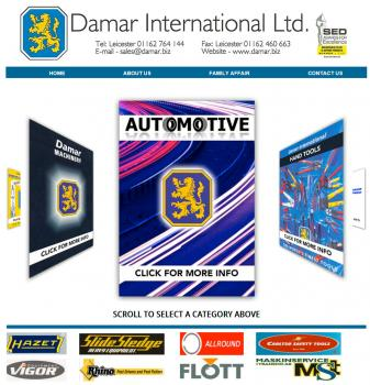 1) The new Damar International web site for hand tool buyers