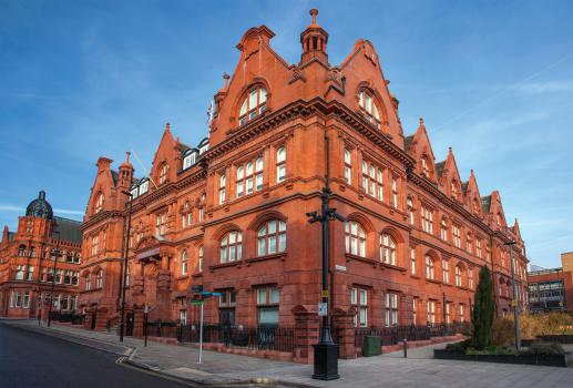 1) Wigan Town Hall restoration - 110 replacement bespoke terracotta pieces from Darwen Terracotta and Faience