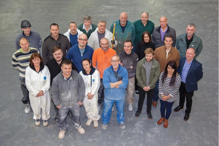 1) 25 skilled and experienced craftspeople have been re-employed in the new Darwen Terracotta and Faience business.