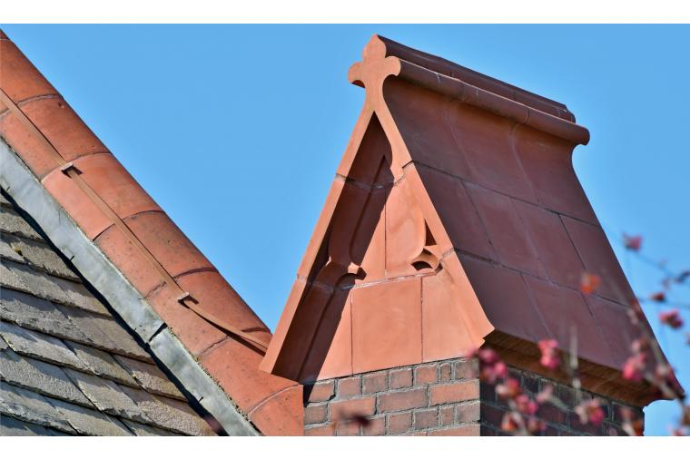 1) Darwen Terracotta supplied more than 100 new terracotta blocks for St Catherine's church, horwich