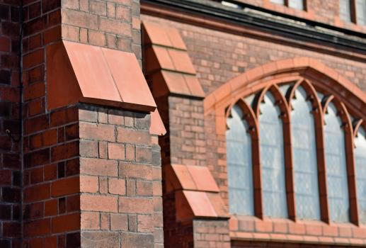 3) Darwen Terracotta matched the colour of existing material as much as possible