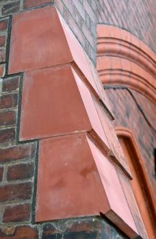 4) Each terracotta piece was expertly hand finished