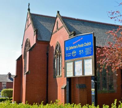 8) St Catherine's church, Horwich