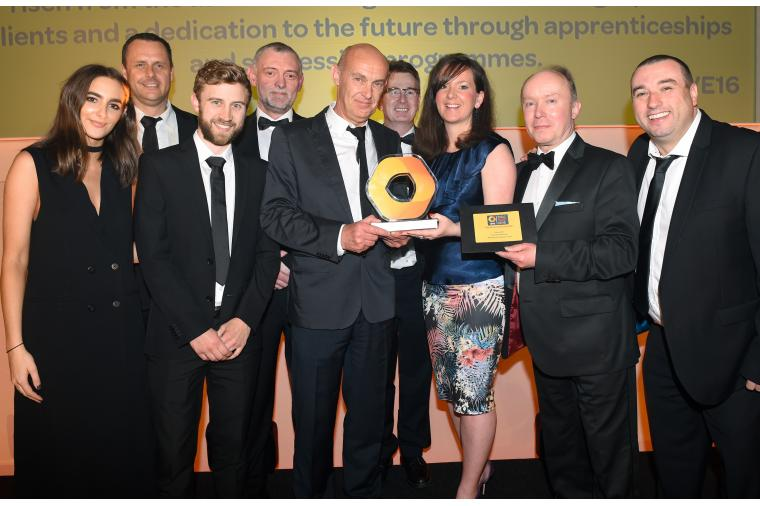 1) The Darwen Terracotta and Faience team - winners of the Hive Blackburn and Darwen Business Newcomer Award