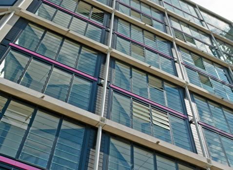 3) 400 Fieger FLM louvre panels have been installed, each has 12.76mm safety glass blades built into an aluminium frame