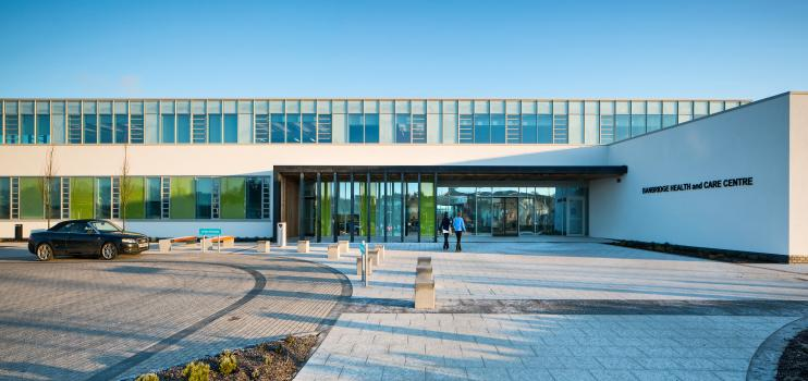 3) Banbridge health and care centre serves a community of 48,000 in County Down (picture by: Donal McCann Photography)