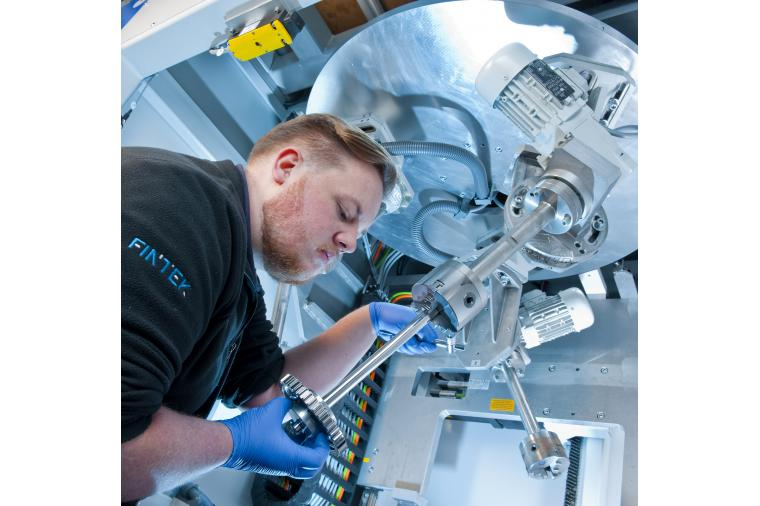 1) The Fintek stand H20-41 at Mach will focus on both machine sales and the company's extensive sub-contract capability