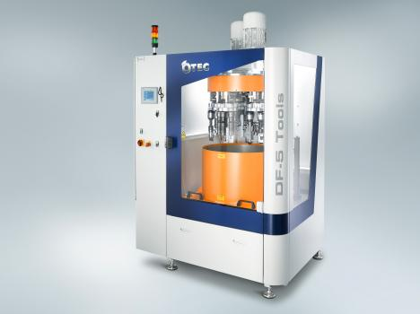 1) Fintek is equipped with the latest Otec surface finishing machines designed to give any aerospace customer component that performance edge