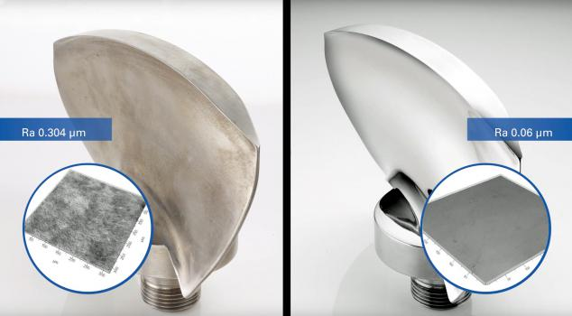 2) Turbine blades before after surface finishing in an Otec SF4.jpg