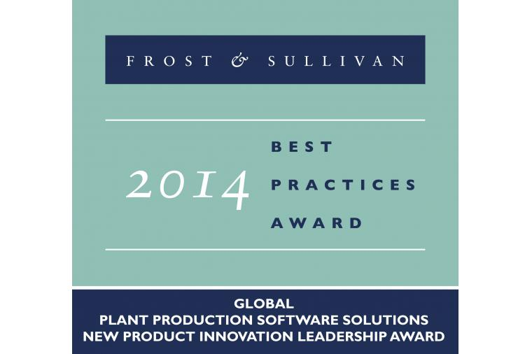 1) The Frost and Sullivan New Product Innovation Leadership Award for 2014 goes to Forcam