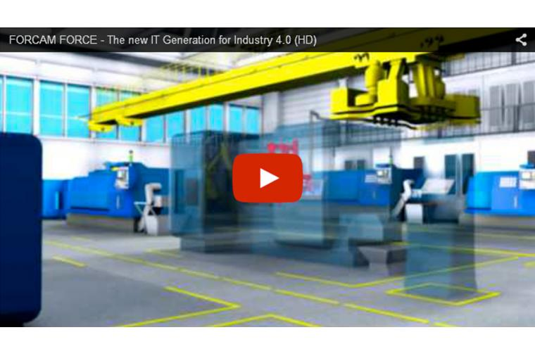 1) Forcam Force video shows how the software will help manufacturers boost productivity