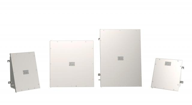 3) Available in a range of sizes, the EA enclosures provide up to 55 percent more wiring space than some alternatives