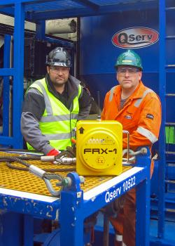 2) The FRX1 is light and easy to handle but tough enough to cope with extreme site conditions