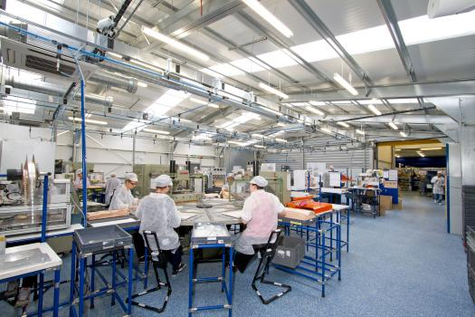 4) The extension has a design life of 35 years and has also freed 1,500 square feet of space in the main factory