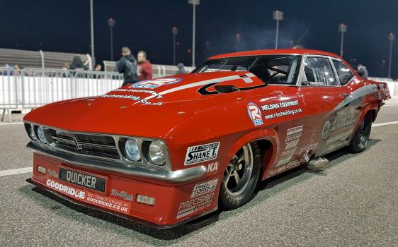 2) Red Victor3, Europe's fastest street-legal drag racer, will remain in Bahrain for the 2017 drag racing season