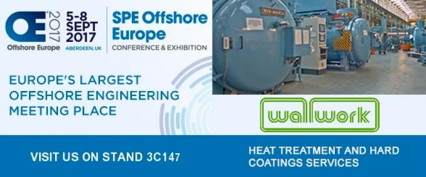 3) Visit Wallwork Group on Stand 3C147, Offshore Europe