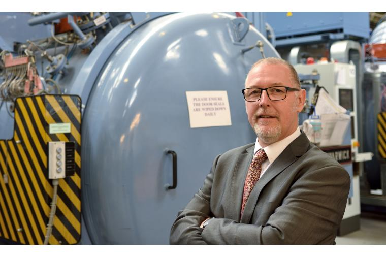 1) Dean Brinton - appointed to technical sales of heat treatment and hard coatings