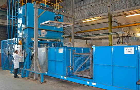 7) Wallwork is one of a small number of UK heat treatment companies able to process aluminium and magnesium to aerospace industry standards