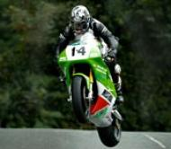 Dan Kneen riding for Mistral Classic Racing (image curtesy of Ian Harrison)