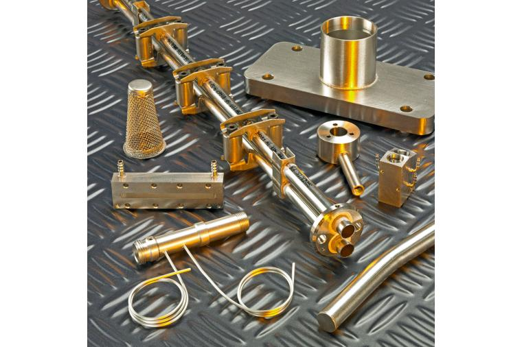 5) Vacuum brazing will join dissimilar metals such as copper, stainless steel and titanium