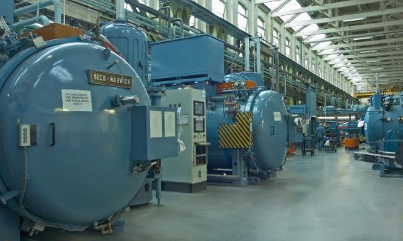1) Vacuum furnaces at Wallwork Group - Bury site