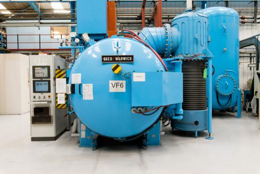 5) An additional vacuum furnace is to be installed as part of the million pound investment