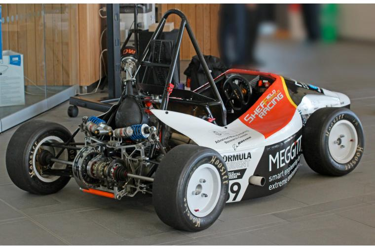 1) Sheffield Formula Racing 2015 car - international teams will gather at Silverstone for the race and technical judging