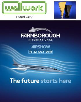 5) Visit Wallwork on stand 2427 at the Farnborough International Airshow 2018