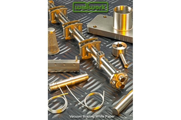 1) Wallwork Group vacuum brazing white paper front cover.